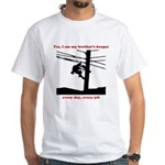 Yes, I Am My Brother's Keeper White T-Shirt