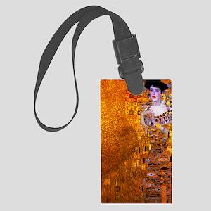 Klimt: Adele Bloch-Bauer I. Large Luggage Tag