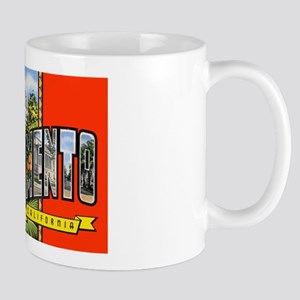 Sacramento California Greetings Mug