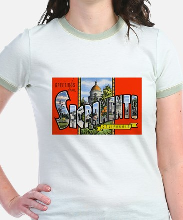 Sacramento California Greetings (Front) T