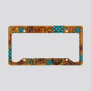 Harvest Moons Geckos License Plate Holder