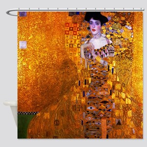 Klimt: Adele Bloch-Bauer I. Shower Curtain