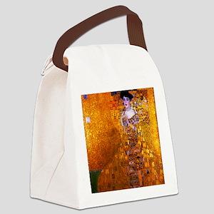 Klimt: Adele Bloch-Bauer I. Canvas Lunch Bag