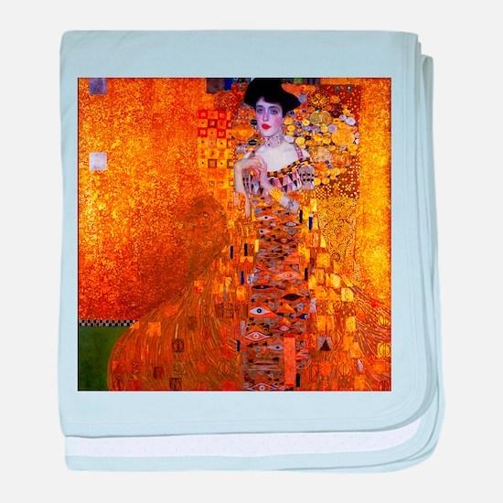 Klimt: Adele Bloch-Bauer I. baby blanket