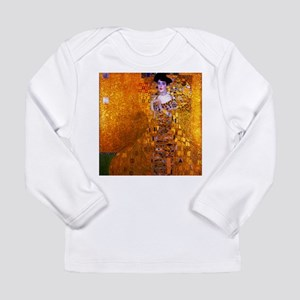 Klimt: Adele Bloch-Bauer I. Long Sleeve Infant T-S