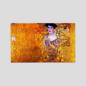 Klimt: Adele Bloch-Bauer I. 3'x5' Area Rug