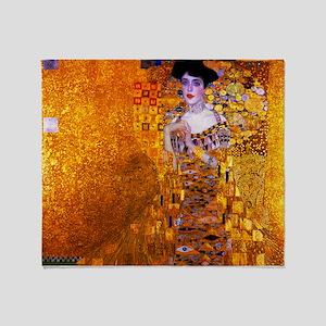 Klimt: Adele Bloch-Bauer I. Throw Blanket