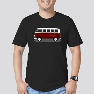 Hippy Bus Men's Fitted T-Shirt (dark)