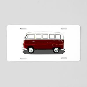 Hippy Bus Aluminum License Plate