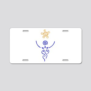 Star Being Aluminum License Plate