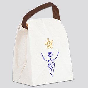 Star Being Canvas Lunch Bag