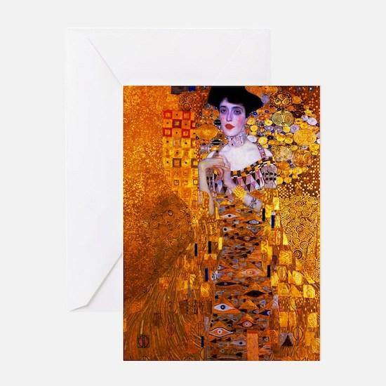 Klimt: Adele Bloch-Bauer I. Greeting Card