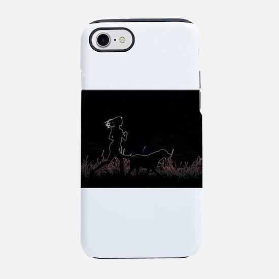 i love dog iPhone 7 Tough Case