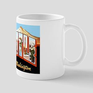 Seattle Washington Greetings Mug