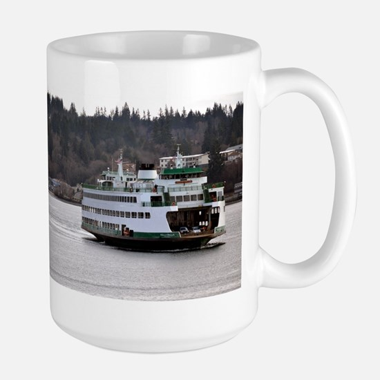 Arrival on Water Mugs