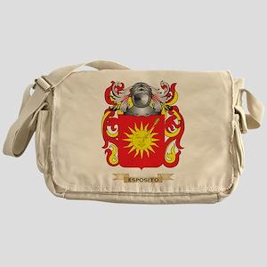 Esposito Coat of Arms Messenger Bag