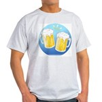 Beer Lover Gear Ash Grey T-Shirt