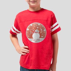 snowman4 Youth Football Shirt