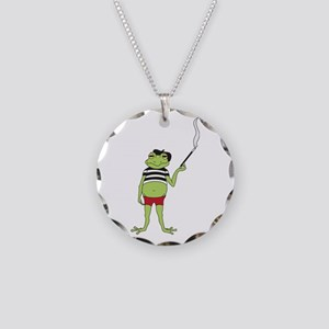 French Frog Necklace