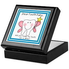 Tooth Fairy Trade Keepsake Keepsake Box