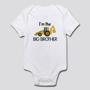 Im the Big Brother Backhoe Construction Body Suit