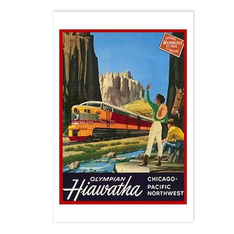 Hiawatha, 1952 Postcards (Package of 8)