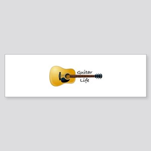 Guitar Life Bumper Sticker