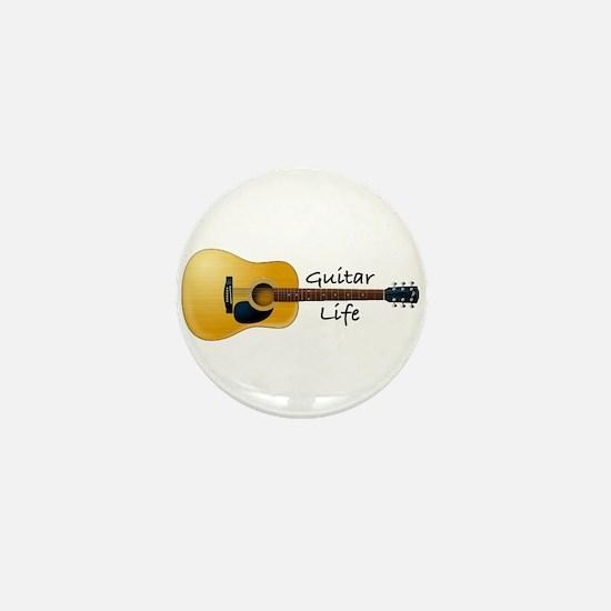 Funny Peace love music Mini Button