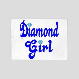 Diamond Girl 5'x7'Area Rug