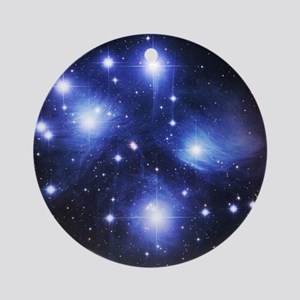 Pleiades Round Ornament