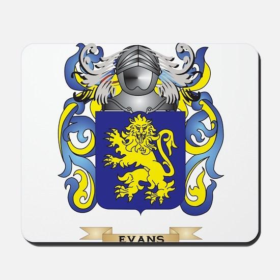 Evans Coat of Arms Mousepad
