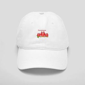 Red Owls Customize Cap