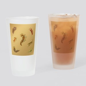 Beautiful Sea Creatures Drinking Glass