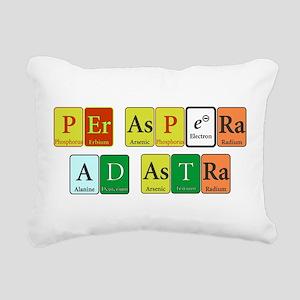 Per Aspera Ad Astra Rectangular Canvas Pillow