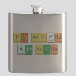 Per Aspera Ad Astra Flask