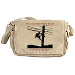 YesIAmMyBrothersKeeper Messenger Bag