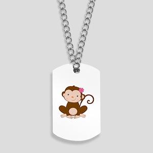Baby Monkey Dog Tags