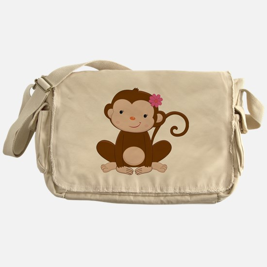 Baby Monkey Messenger Bag