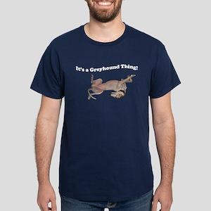 Greyhound Thing Navy blue T-Shirt