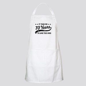 Funny 70th Birthday Apron