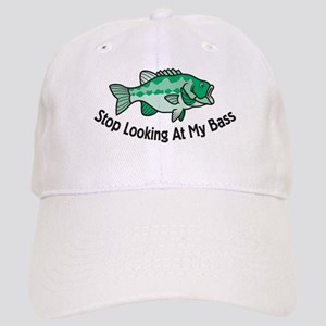Funny Bass Fishing Hats - CafePress a7902933e70