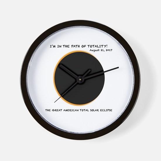 Cute August Wall Clock