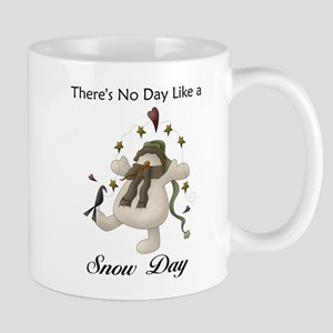 No Day Like a Snow Day Small Mugs