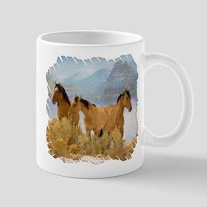 Buckskin Horses Mug