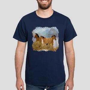 Buckskin Horses Dark T-Shirt