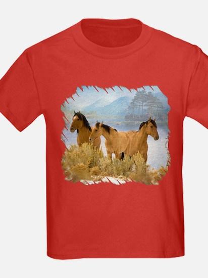 Buckskin Horses T