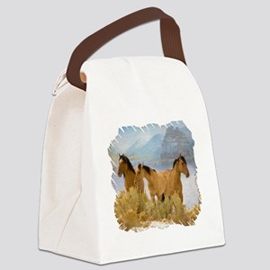 Buckskin Horses Canvas Lunch Bag