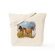 Buckskin Horses Tote Bag