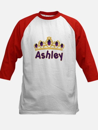 Princess Tiara Ashley Personalized Kids Baseball J