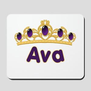 Princess Tiara Ava Personalized Mousepad